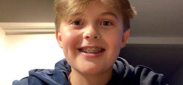 Albert (15) samlet inn kjempesum