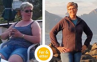 Trine (49) gikk ned 20 kilo: - Vil ha en kropp jeg kan bli gammel i