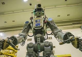 Russisk robot i trøbbel i verdensrommet