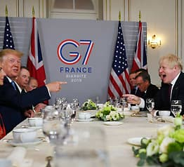 Hei sveis!Møtte Trumpfor frokost