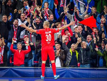 Skrev Champions League-historie: - Alle i lagetelsker ham