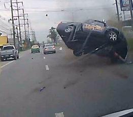 Svinger unna alvorlig ulykke
