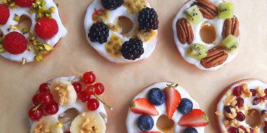 Prøv en sunn donut!