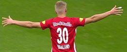 Se Haalands 17 mål