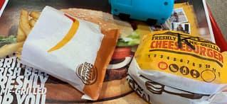 Burgerkjede dropper plastleker