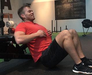 Hverdagsaktiviteter som trener magen