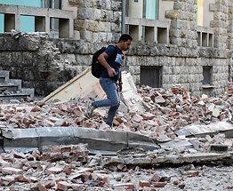 Se skadene etterjordskjelvet