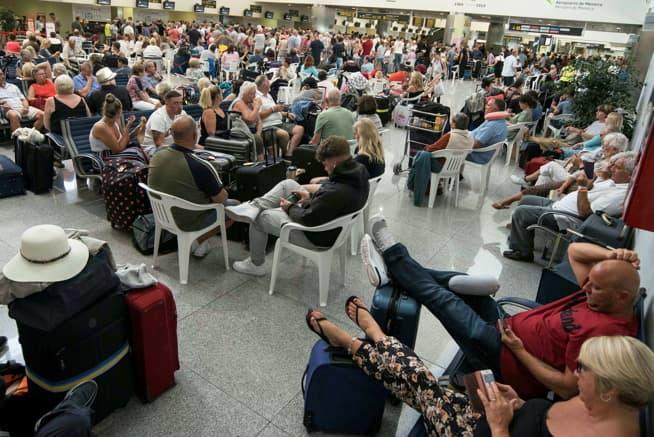 Thomas Cook-konkursen:Frykter kaos på europeiske flyplasser