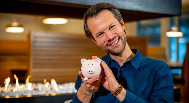Øyvind Bendz Strøm og pensjonssparegrisen